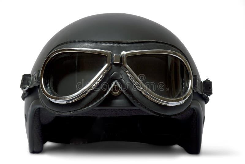 Casque et lunettes photo stock