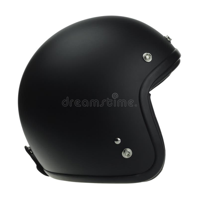 Download Casque Noir De Classique De Motocyclette Image stock - Image du gestionnaire, noir: 87706985
