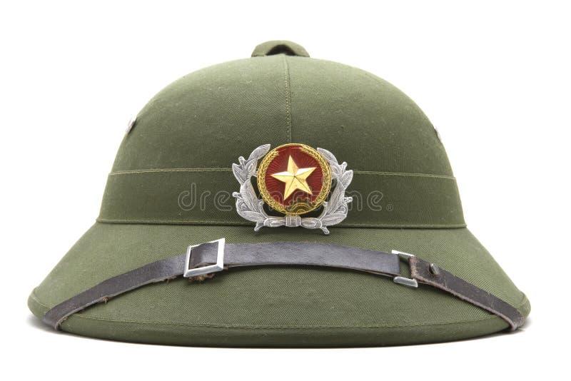 Casque vietnamien de police photographie stock