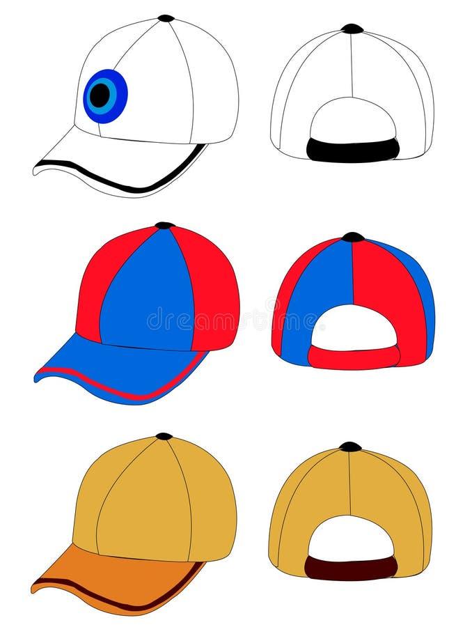 Casquillo ilustración del vector