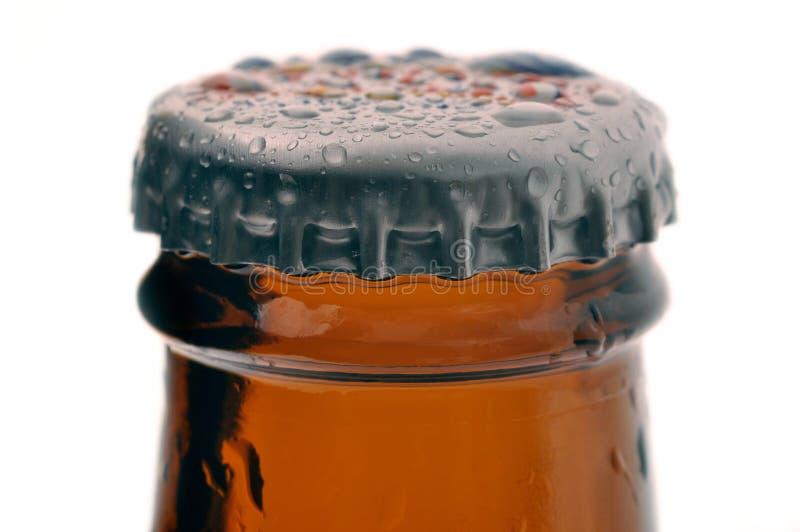 Casquillo de la cerveza imagen de archivo