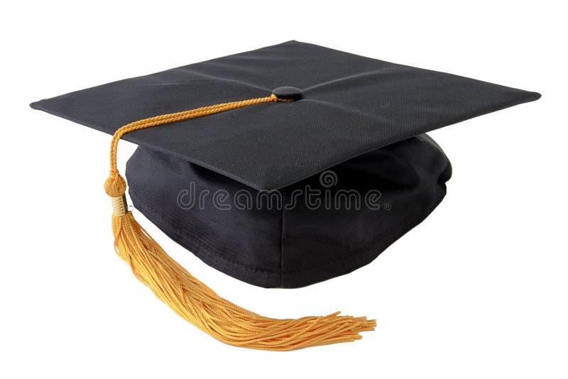 Casquillo de la graduación imagen de archivo