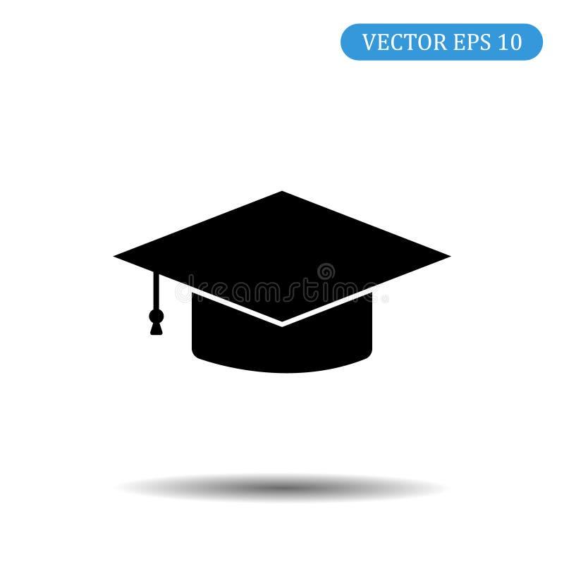 Casquillo de la graduación Ilustración EPS 10 del vector stock de ilustración