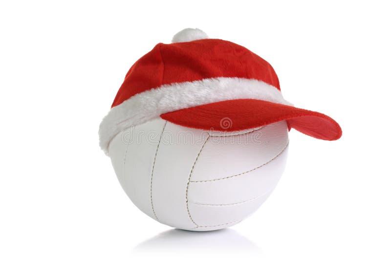 Casquillo de la Navidad en bola fotos de archivo