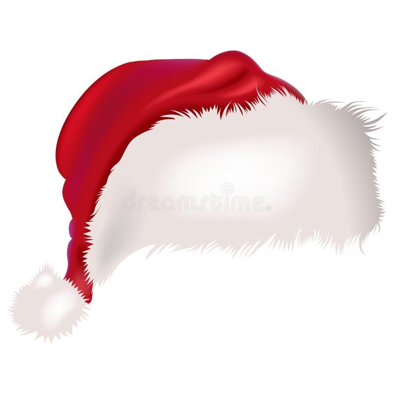 Casquillo de Santas stock de ilustración