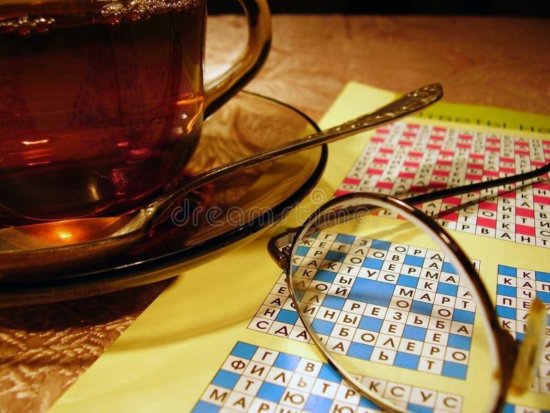 Casquillo del té imagen de archivo libre de regalías