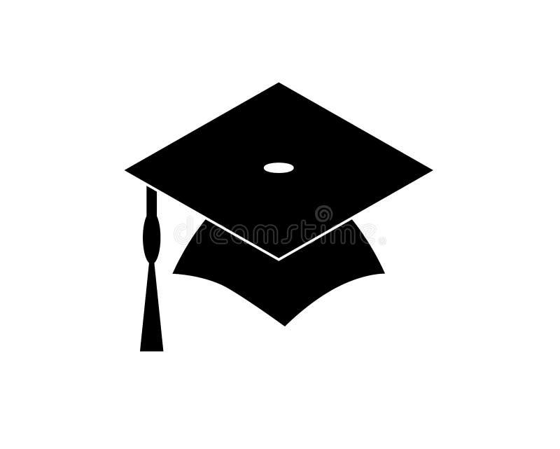 Casquillo Logo Template Design Elements de la graduaci?n libre illustration