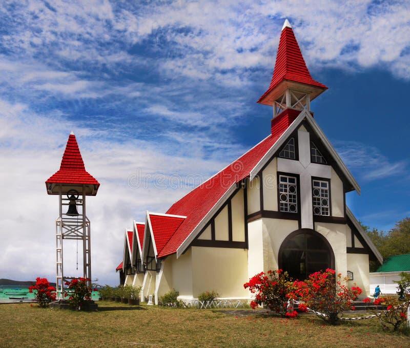 Casquillo Malheureux, Mauritius Island de la iglesia, imágenes de archivo libres de regalías