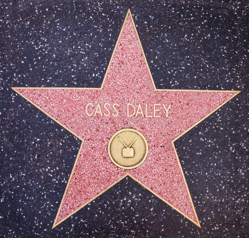 Cass Daley gwiazda zdjęcie royalty free