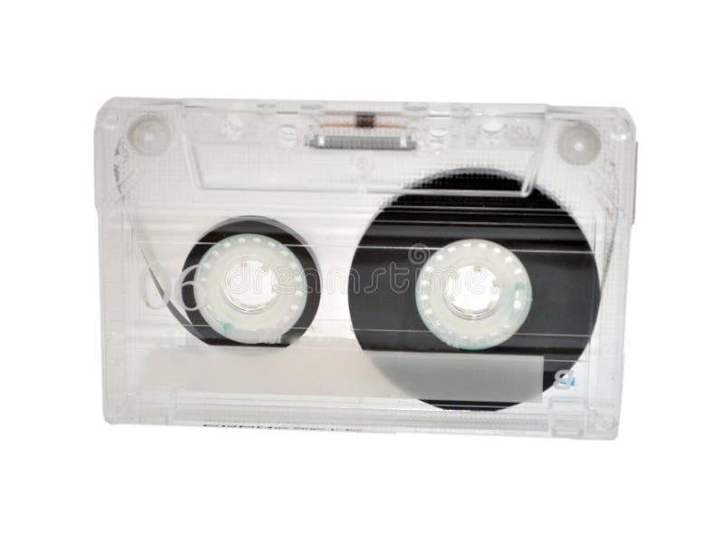 Cassa d'annata del nastro del cassete fotografia stock