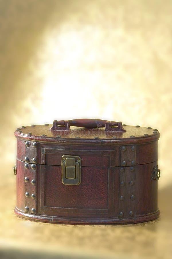 Cassa di legno fotografie stock libere da diritti
