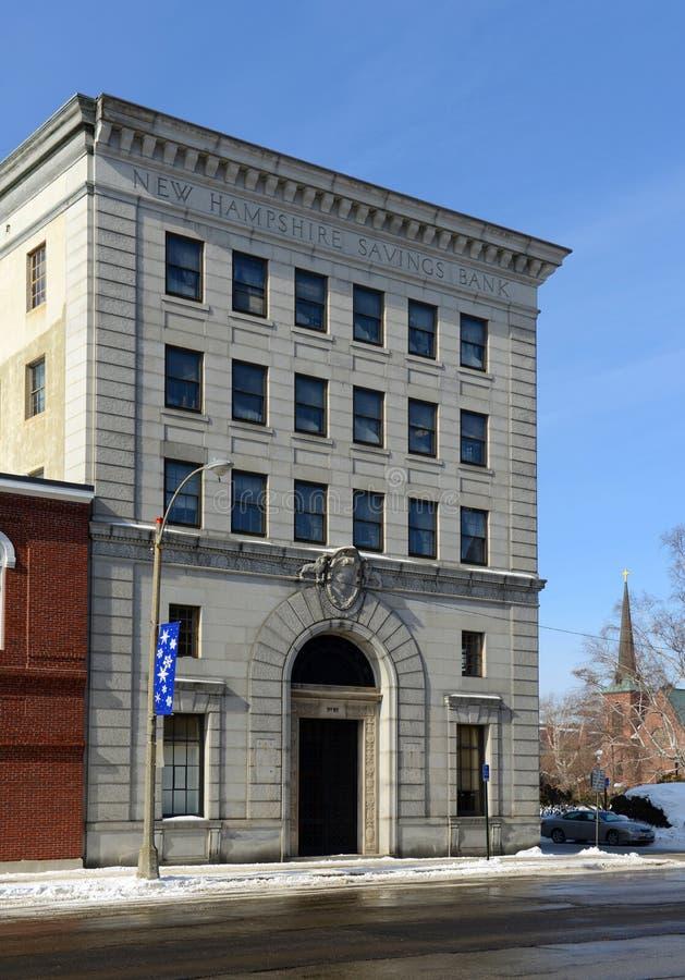 Cassa di risparmio di New Hampshire, accordo, NH, U.S.A. fotografia stock
