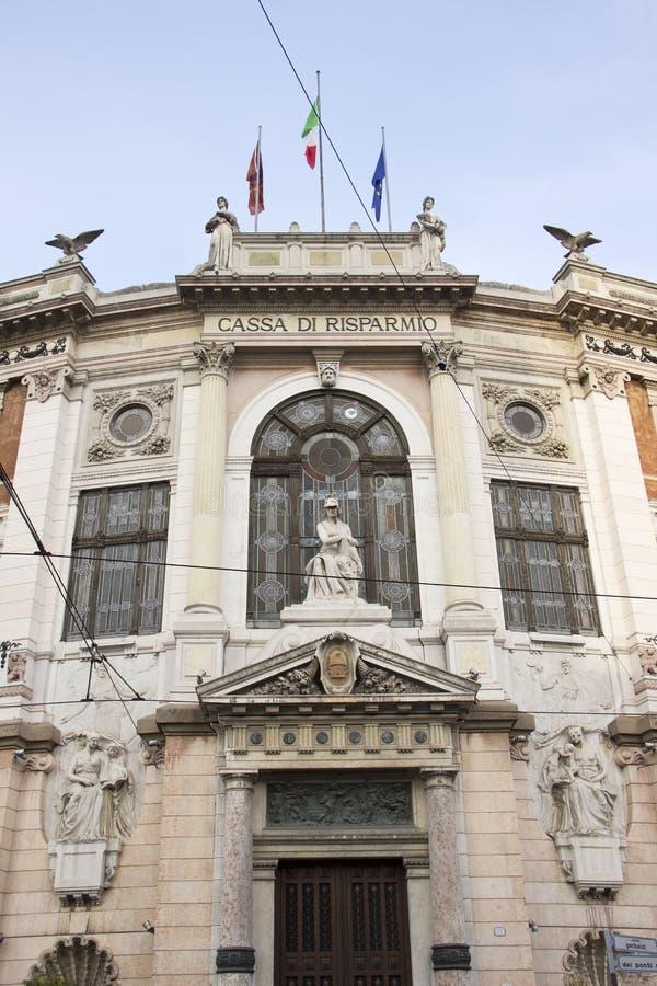 Cassa di Risparmio a Padova immagini stock