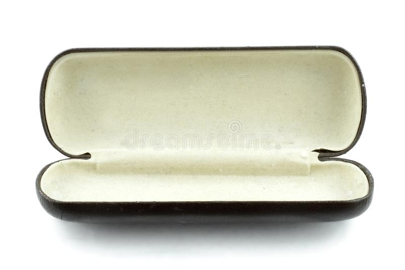 Cassa di vetro immagine stock