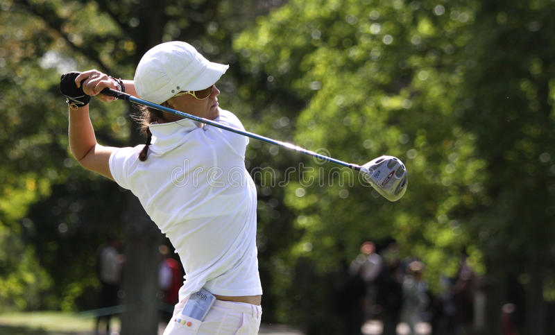 Download Cassandra Kirkland, Ladies French Open 2010 Editorial Photo - Image of target, golf: 16048811
