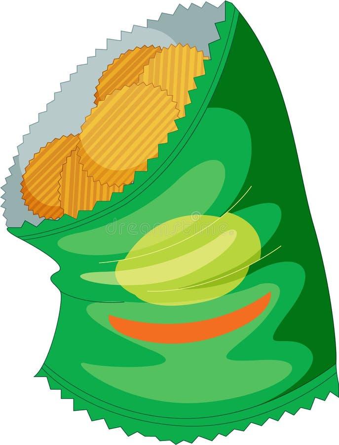 Casse-croûte illustration de vecteur