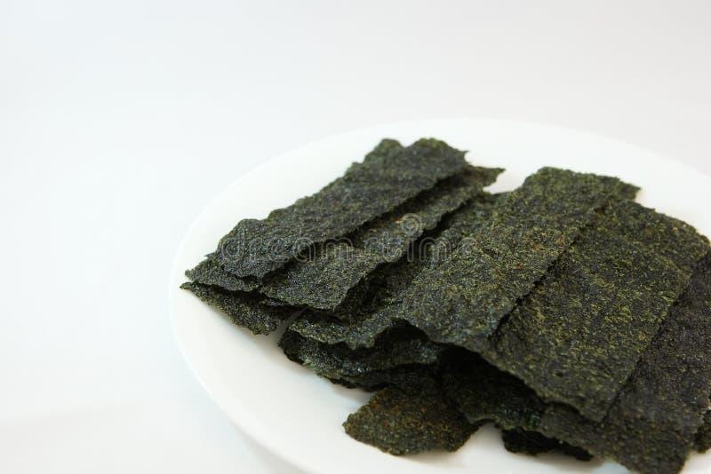 Casse-croûte d'algue photo stock