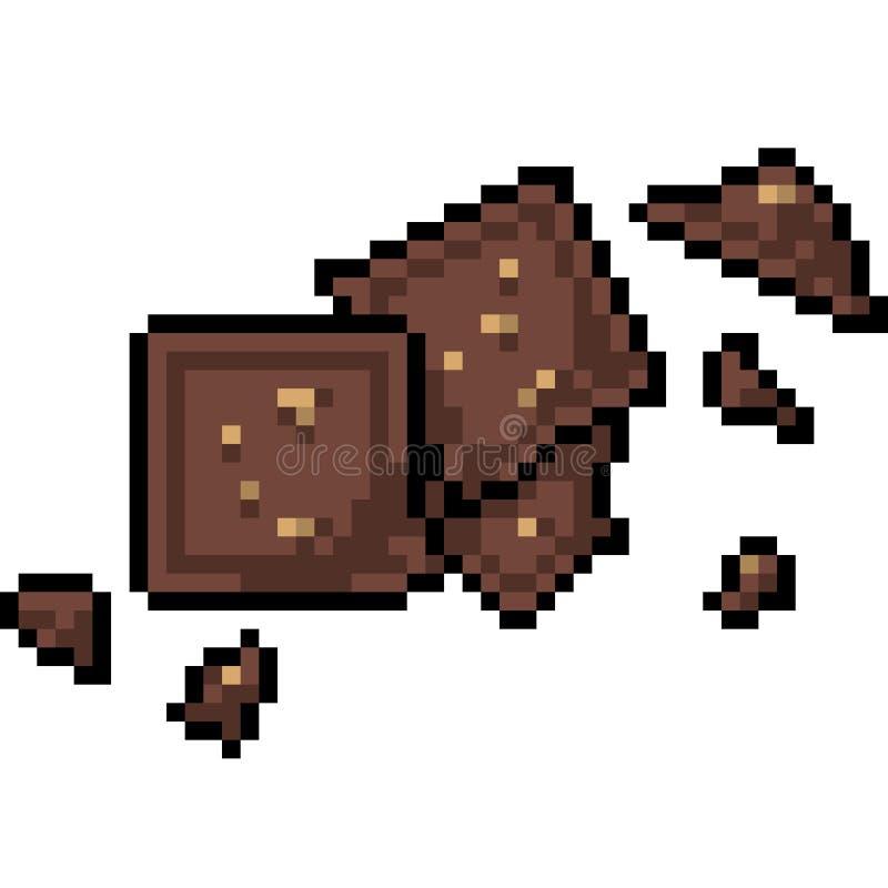 Art De Pixel De Barre De Chocolat Bit De La Douceur 8