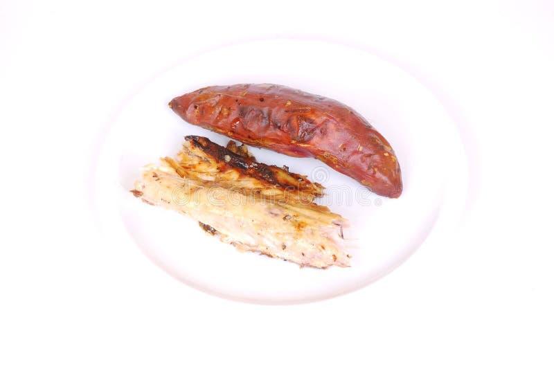 Casse-croûte de poissons photos libres de droits