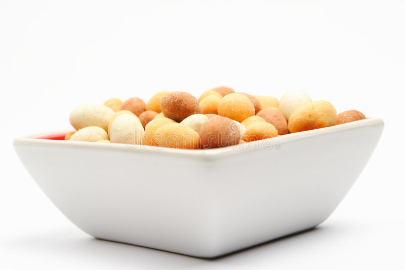 Casse-croûte Nuts couvert image stock