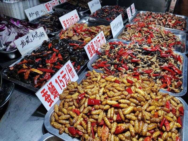 Casse-croûte spéciaux chinois photos stock