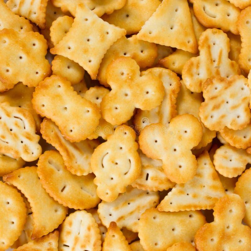 Casse-croûte de biscuit photo libre de droits