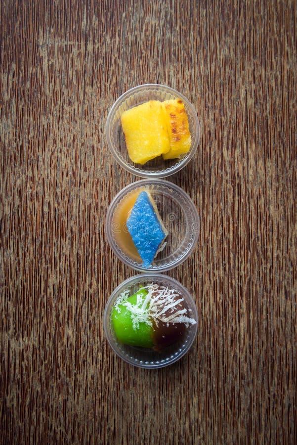 Casse-croûte de dessert une fois étendu photo libre de droits