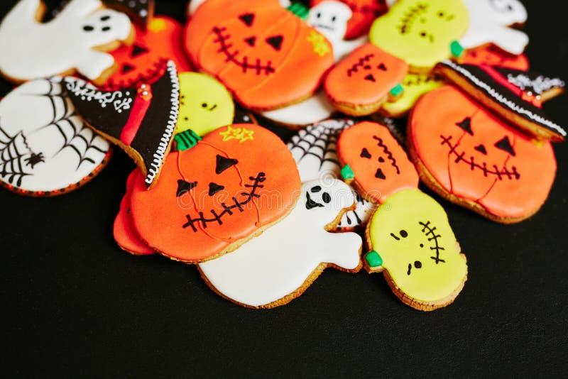 Casse-croûte de Halloween photographie stock libre de droits