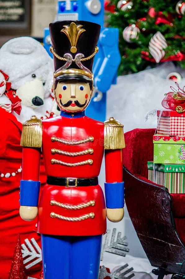 Casse-noix de temps de Noël image libre de droits