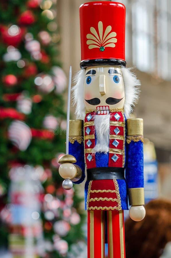 Casse-noix de temps de Noël photos stock