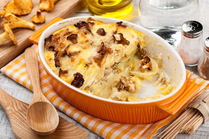 casserole величает картошка стоковые изображения