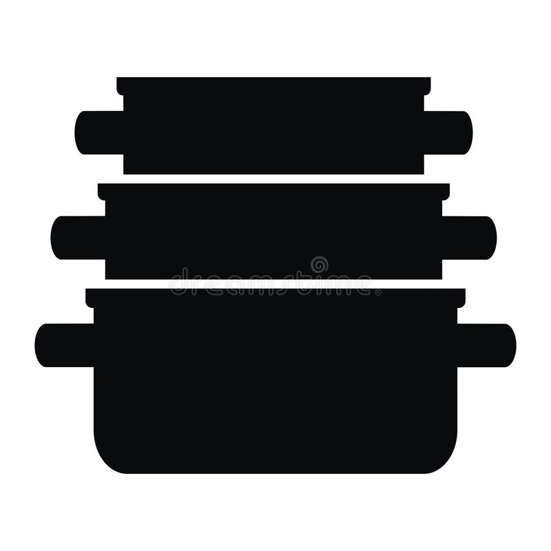casserole иллюстрация вектора