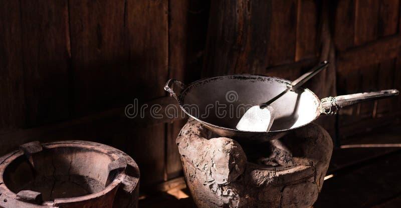 Download Casserole Vide Sur Le Fourneau Photo stock - Image du cuisine, vide: 87708478