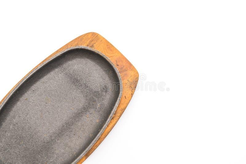 Casseruola (piastra riscaldante) fotografia stock libera da diritti