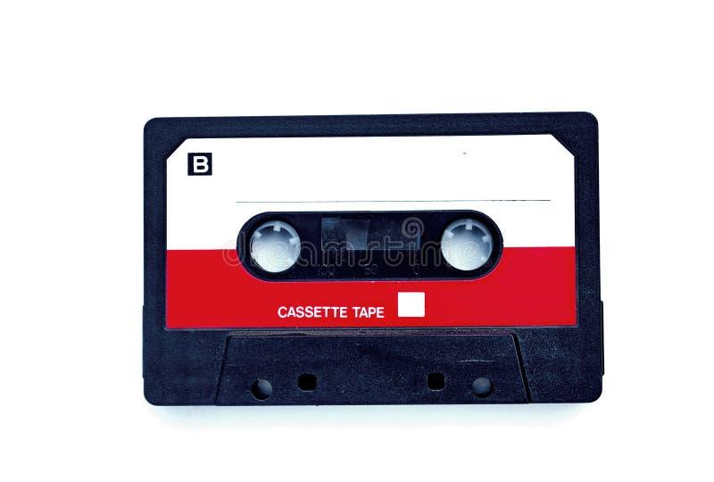 Cassete áudio compacta fotografia de stock royalty free