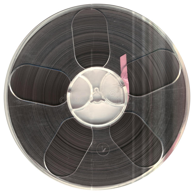 Cassete áudio do vintage fotografia de stock