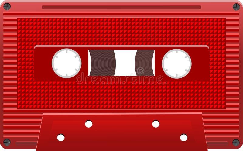 Cassetes áudio eps8 do vetor
