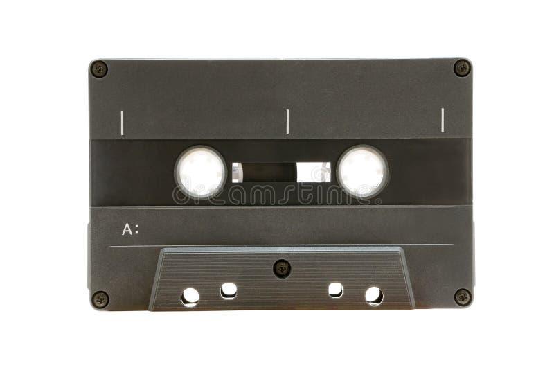 Cassetta audio grigia fotografie stock