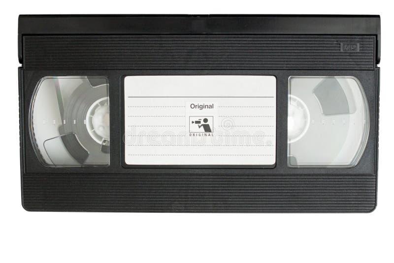 Cassetta del film di VHS fotografie stock libere da diritti