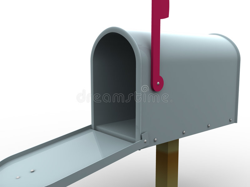Cassetta postale. illustrazione di stock