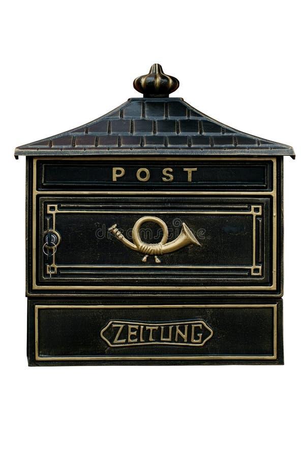 Cassetta postale dell'annata immagini stock libere da diritti
