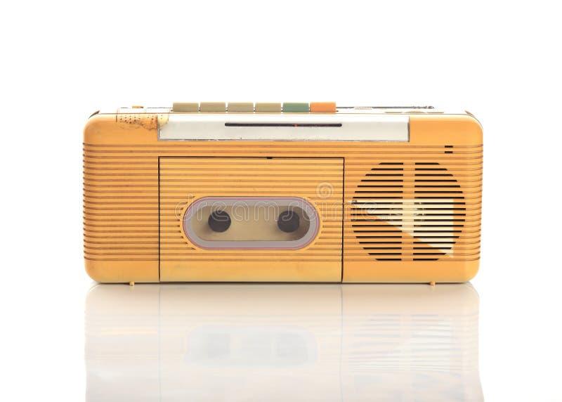 Cassetta radiofonica di musica immagine stock libera da diritti