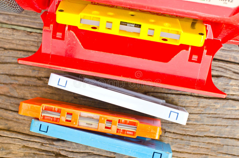 Cassette. images stock
