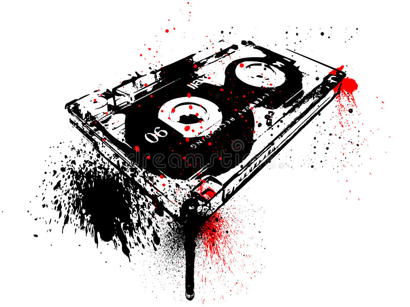 cassette libre illustration