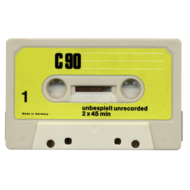 cassette στοκ φωτογραφία με δικαίωμα ελεύθερης χρήσης