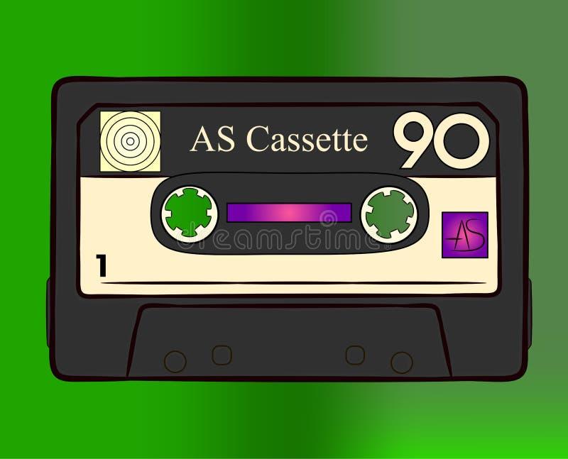 cassette image libre de droits