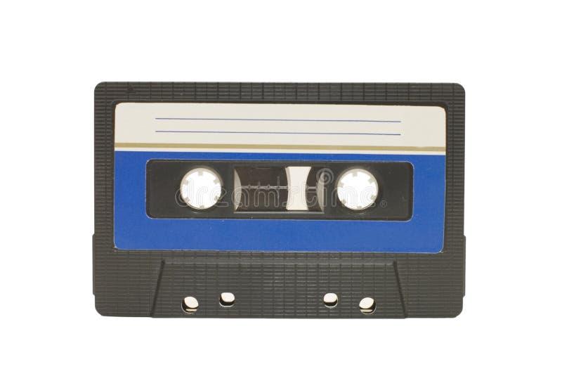 Cassette audio aislado fotos de archivo