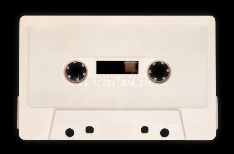 Cassette audio, blanco fotos de archivo