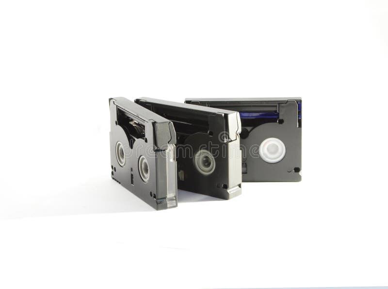 Cassette compacto video imagen de archivo libre de regalías