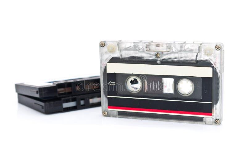 Cassette de bande images libres de droits